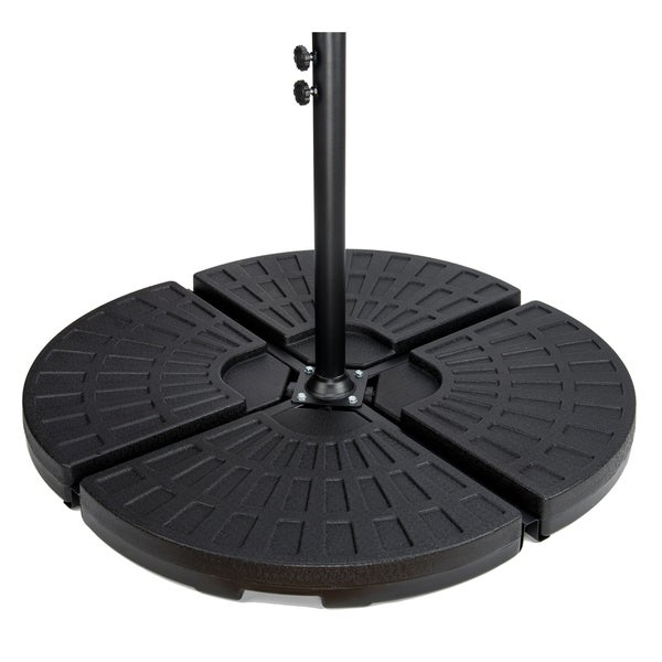 4 Piece Set Cantilever Umbrella Base Water Weights For Offset Umbrellas By Trademark Innovations Free Shipping Today 18104786