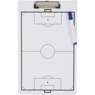 Soccer Clipboard - Erasable White Board - Great For Coaches By Trademark Innovations