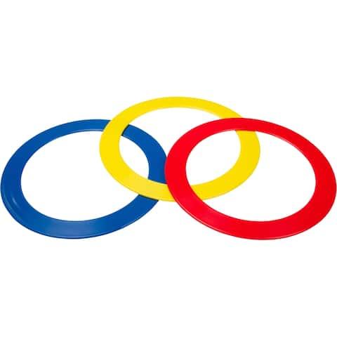 Juggling Rings - Set of 3 Juggling Rings By Trademark Innovations