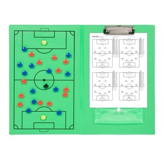 Magnetic Soccer Clipboard - Erasable White Board - Great For Coaches By Simply Sports