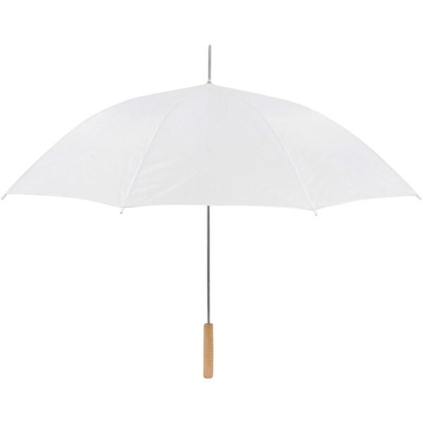 """Wedding Umbrella - 60"""" Umbrella - Auto Open By Anderson Umbrella (White)"""