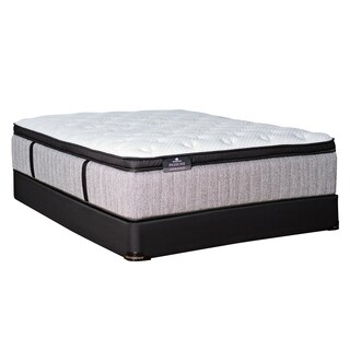kingsdown passions aspiration inch full xlsize pillow top luxury mattress set