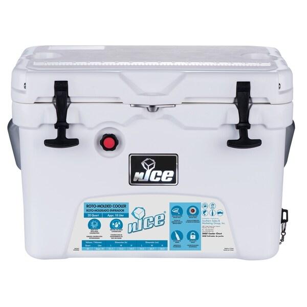 Nice 20QT Roto-mold Premium Cooler