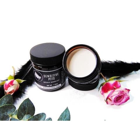 Sensitive Pit Natural Deodorant - 24-Hour Protection