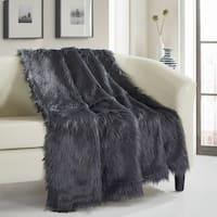 Chic Home Ruffa Faux Fur Ultra Plush Micromink Throw