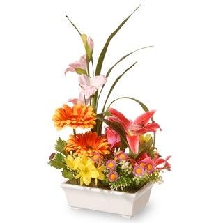 "15"" Potted Floral Arrangement"