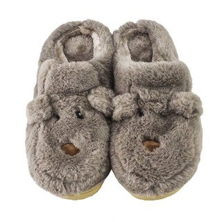 MinxNY Animal Slippers With Hard Sole