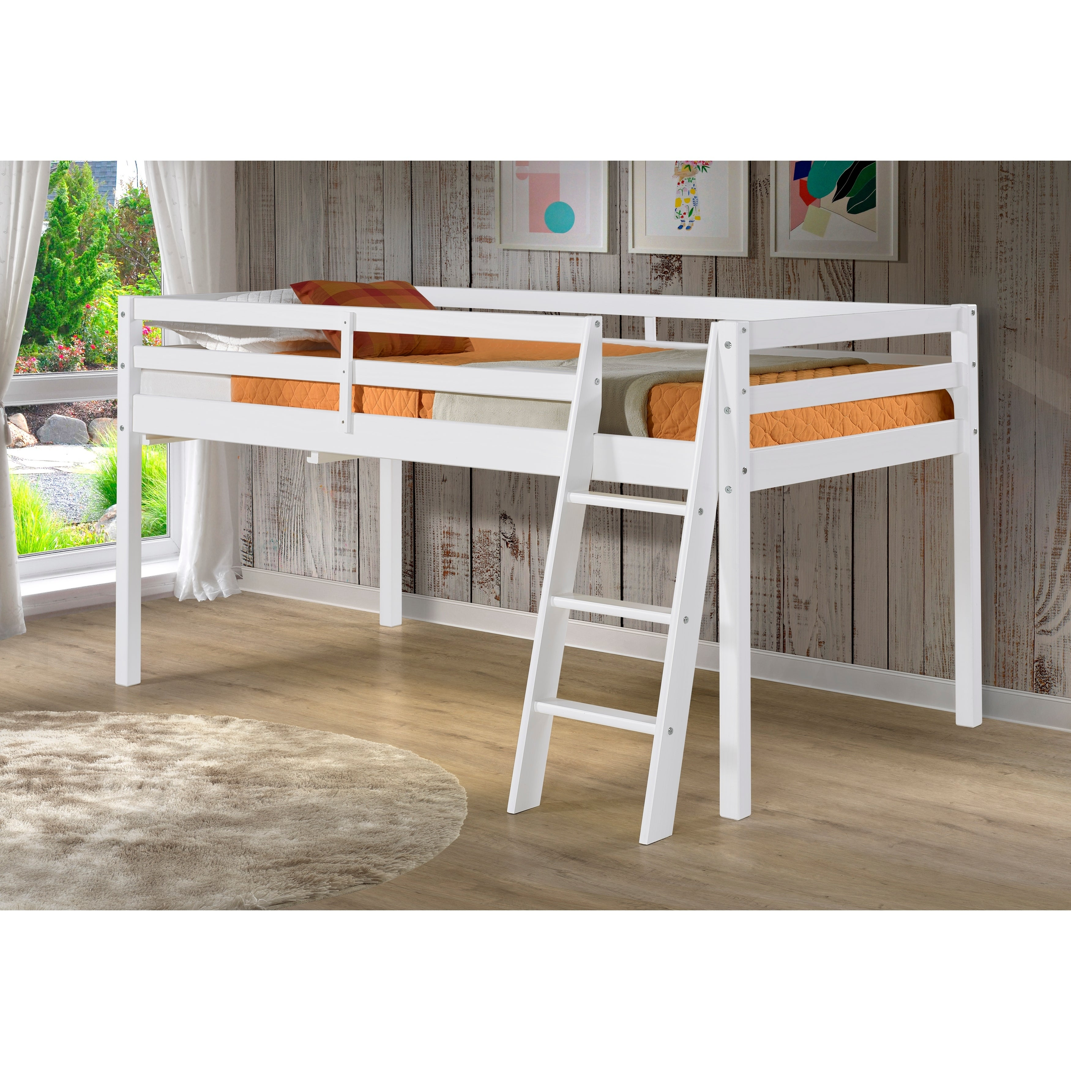Picture of: Roxy Solid Wood Twin Junior Loft Bed On Sale Overstock 18105347
