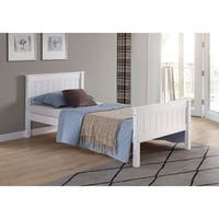 Harmony Twin Bed, White