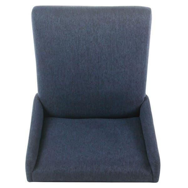Tremendous Shop Homepop Dinah Modern 24 Counter Stool Indigo Free Machost Co Dining Chair Design Ideas Machostcouk