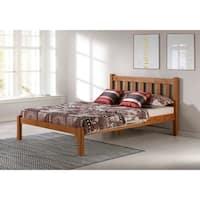 Poppy Solid Wood Full Bed, Cinnamon