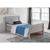 Harmony Twin Bed, Dove Gray
