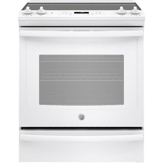 "GE 30"" Slide-In Electric Convection Range"