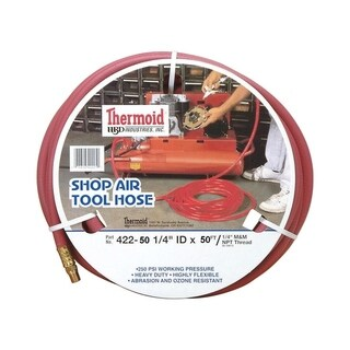 Thermoid Shop Air Tool Hose 1/4 in. x 50 ft. L 250 psi