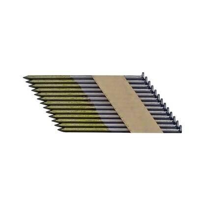 National Nail Pro-Fit 3 in. L .131 Ga. Brite Paper Strip Framing Nails 2500 pk
