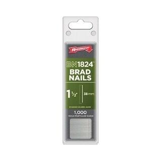 Arrow BN1824 1-1/2 in. L 18 Ga. Galvanized Trim Brad Nails 1,000 pk