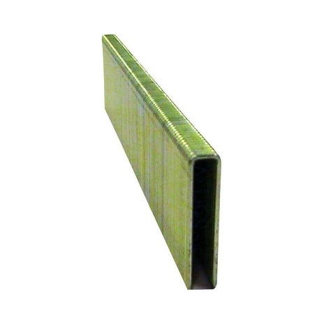 National Nail Pro-Fit 3/4 in. x 1/4 in. L 18 Ga. Electrogalvanized Narrow Crown Finish Staples 1000 pk