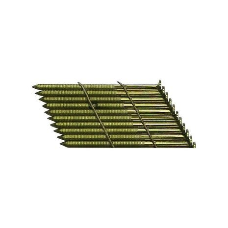 National Nail Pro-Fit 2-3/8 in. L .113 Ga. Brite Ring Wire Strip Framing Nails 2000 pk
