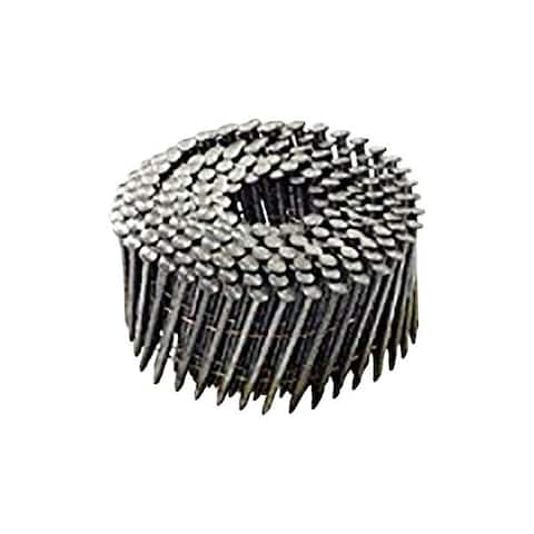 National Nail Pro-Fit 3 in. L .120 Ga. Electrogalvanized Coil Framing Nails 2500 pk