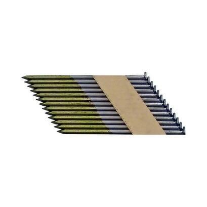 National Nail Pro-Fit 2-3/8 in. L .113 Ga. Electrogalvanized Paper Strip Framing Nails 2000 pk