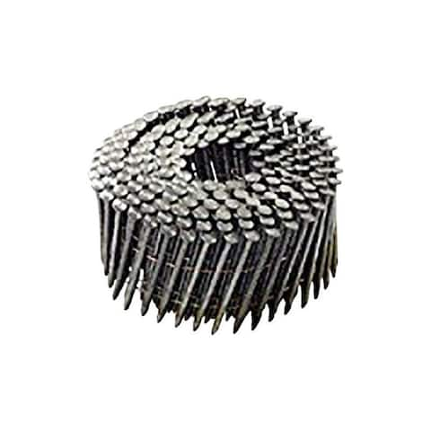 National Nail Pro-Fit 2-3/8 in. L .113 Ga. Electrogalvanized Coil Framing Nails 3000 pk