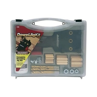 Milescraft Dowel For Wood Jig Kit 82 pc.
