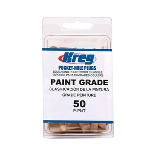 Kreg Paint Grade Wood Plugs 50 count