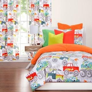 Link to Crayola Four Wheelin' Monster Truck 3-piece Comorter Set Similar Items in Kids Comforter Sets