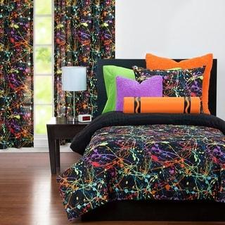 Link to Crayola Neon Splat Paint Drip 3-piece Comforter Set Similar Items in Kids Comforter Sets