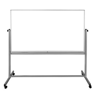 72x48 Double-Sided Mobile Magnetic Whiteboard