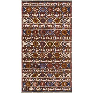 "Vintage Shirvan Collection Hand-Knotted Lamb's Wool Rug (5' 8"" X 10' 8"")"