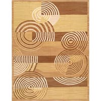 "Pasargad Vintage Art Deco Collection Hand-Woven Wool Rug (9'11"" X 13' 7"") - 10' x 14'"