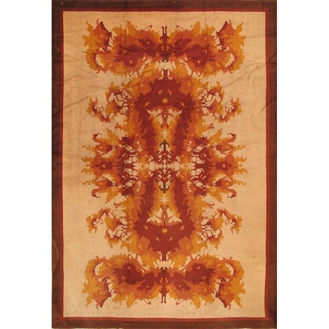 """Pasargad Antique Art Deco Collection Hand-Knotted Wool Rug (11' 6"""" X 16' 6"""")"""