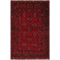 """Pasargad Vintage Yamoud Collection Hand-Knotted Wool Area Rug (5' 3"""" X  8' 1"""")"""