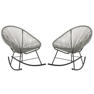 Acapulco Rocking Chair, Indoor or Outdoor, Set of 2 (China) (5 options available)