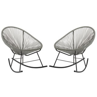 Acapulco Rocking Chair, Indoor or Outdoor, Set of 2 (China)