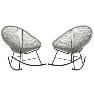 Handmade Acapulco Rocking Chair, Set of 2