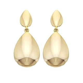 Isla Simone 14K Gold Plated Door-Knocker Earrings