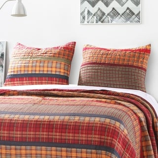 Gold Rush Quilted Pillow Sham Set (set of 2)