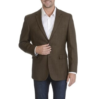 Prontomoda Europa Men's Brown Lamb's Wool Sportcoat