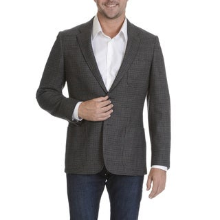 Prontomoda Europa Men's Grey Lamb's Wool Sportcoat