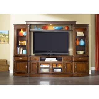 Liberty Hanover Cherry Spice 4-piece Entertainment Center|https://ak1.ostkcdn.com/images/products/18107033/P24263390.jpg?impolicy=medium