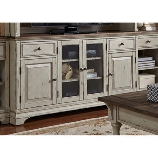 Morgan Creek Antique White and Tobacco 68-Inch TV Stand