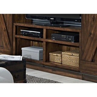 Lancaster III Rustic Tobacco 55-Inch TV Stand