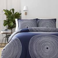 Marimekko Fokus Navy Comforter