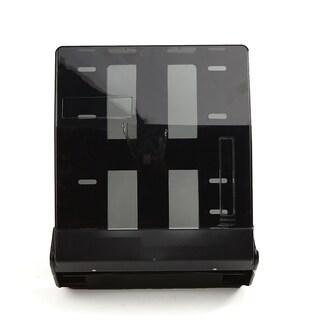 Mind Reader C-Fold and Multi-Fold Surface-Mounted Paper Towel Dispenser, Black