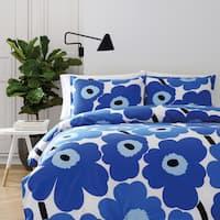 Marimekko Unikko Blue Comforter Set