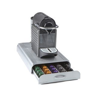 Mind Reader 'Anchor' Nespresso Capsule Storage Drawer 50 capacity, Silver|https://ak1.ostkcdn.com/images/products/18107105/P24263522.jpg?impolicy=medium