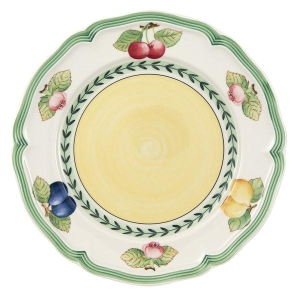 Villeroy u0026&; Boch French Garden Salad Plate Case ...  sc 1 st  Overstock.com & Villeroy u0026 Boch French Garden Salad Plate Case - Set of 6 - Free ...