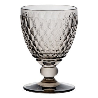Villeroy & Boch Boston Smoke Crystal Clarets, Set of 4